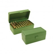 MTM Ammo Boxes Rifle Green 270 WSM- 45-70 Government 50
