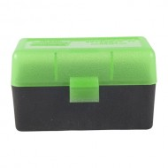 MTM RS-50 Case-Guard Rifle Box  Ammo Boxes Rifle Green & Black 17 Remington - 300 Whisper 50