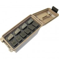 MTM DOUBLE STACK TACTICAL MAGAZINE CAN  Tactical Magazine Can Double Stack Polymer Tan