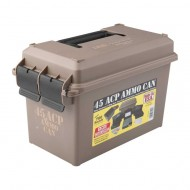 MTM AMMO CAN 45ACP POLYMER TAN  Ammo Can 45ACP Polymer Tan