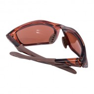 CROSSFIRE MACH 1 SHOOTING GLASSES  Brown Polarized Mach 1 Shooting Glasses Brown