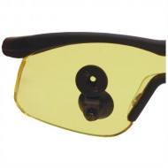MERIT OPTICAL ATTACHMENT SHOOTING GLASSES  Yellow Optical Attachment Shooting Glasses Black