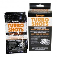 LYMAN TURBO SHOTS CASE CLEANING PACKETS  Lyman Turbo Shots Case Cleaning Packets, Steel