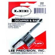 LEE PRECISION DECAPPER AND BASE  Lee Decapper & Base, .22 Cal