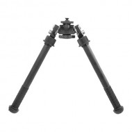 ACCU-SHOT ATLAS TALL BIPOD NO CLAMP PICATINNY MOUNT  Atlas Tall Bipod No Clamp Picatinny Mount 7-13