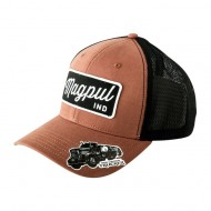 MAGPUL SCRIPT SNAPBACK CAP  Script Snapback Cap Leather Brown