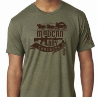 VICTORY FIRST/VICTORY WEAR MEN'S OLD WEST STYLE COACHGUN T-SHIRTS  OldWest Style Modern Day Coachgun