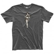 MAGPUL MEN'S FINE COTTON HULA GIRL T-SHIRTS  Men's Fine Cotton Hula Girl T-Shirt New Charcoal X-Larg