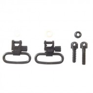 UNCLE MIKES SS BL LOOP SWIVEL SET  1-1/4