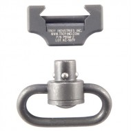 TROY INDUSTRIES, INC. AR-15/M16 PUSHBUTTON SWIVEL RAIL MOUNT  Pushbutton Swivel Rail Mount