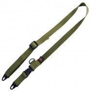 BLACK RAIN ORDNANCE INC. 2 TO 1 SLING  2 To 1 Sling-OD Green