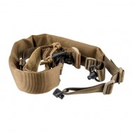 VIKING TACTICS V-TAC PADDED SLING WITH CUFF ASSEMBLY  V-TAC Padded Sling w/Cuff Assembly-Coyote