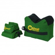 CALDWELL SHOOTING SUPPLIES DEADSHOT SHOOTING BAGS  Unfilled DeadShot Boxed Combo Front & Rear Bag